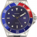 Sekonda 3077 Gents Quartz Analogue Date Stainless Steel 50m Watch